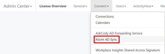 Azure AD Sync Portal