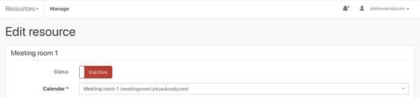 Edit Resource in the AskCody Management Portal