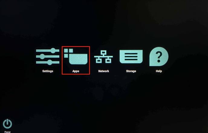 Main menu on Philips 10BDL4551T