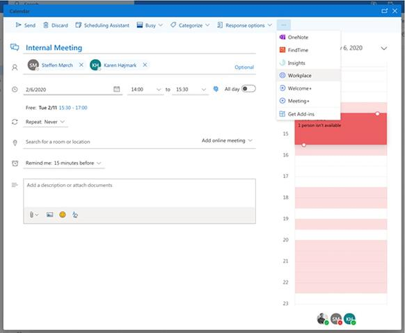 The AskCody add-ins in Outlook for the Web